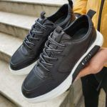 Sardinelli Black Lace Up Sneakers