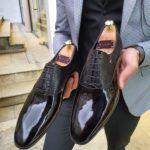 Aysoti Marav Black Laced Oxford