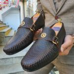 Aysoti Opallac Brown Buckle Loafer