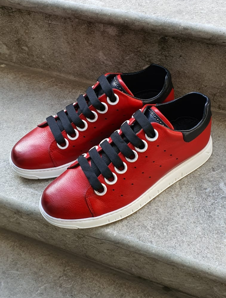 Bellfast Aysoti Red Low-Top Sneaker
