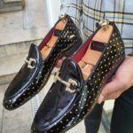 Aysoti Burgas Black Loafer