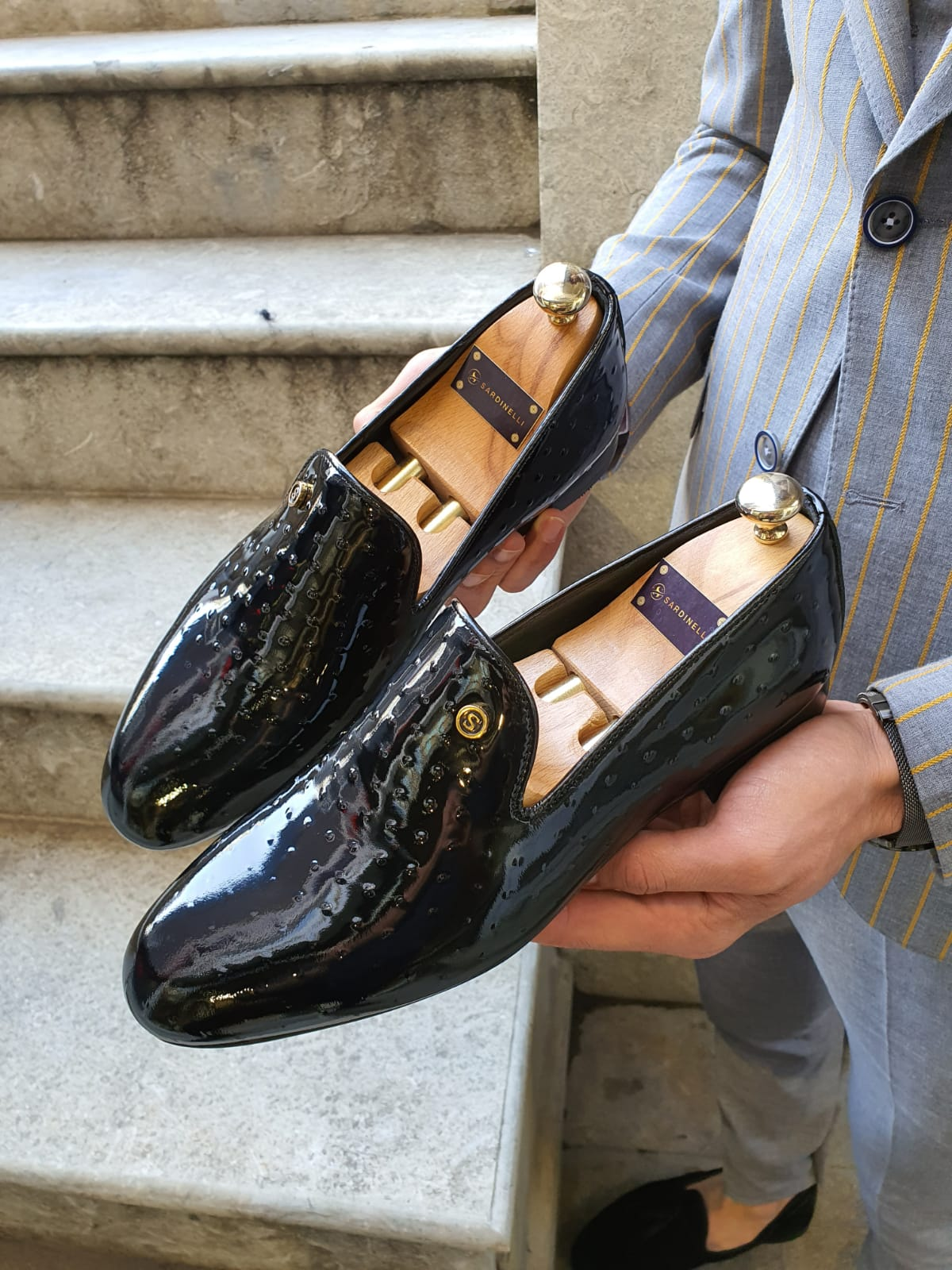 Aysoti Sellew Black Classic Loafer