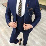 Svera Sax Slim Fit Wool Suit