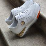 Bellfast Aysoti Winner White Mid-Top Sneakers