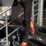 Evia Super Black Slim Fit Pants