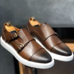 Sardinelli Monk Brown Shoes