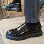 Aysoti Avallos Black Buckle Loafers