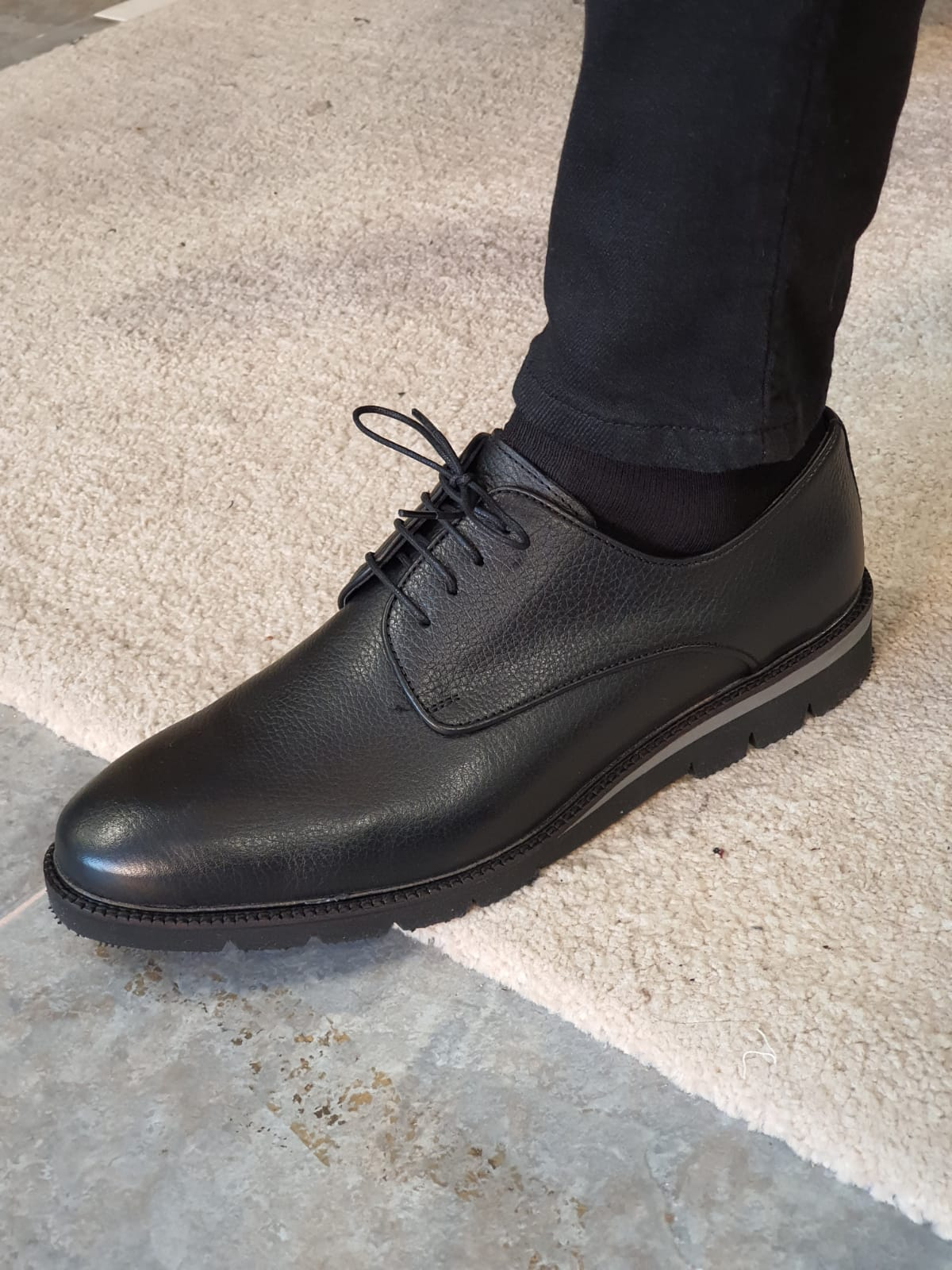 Aysoti Avallos Black Laced Boots