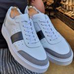 Aysoti Bentonville White Mid-Top Sneakers