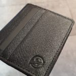 Aysoti Charlotte Black Leather Card Holder