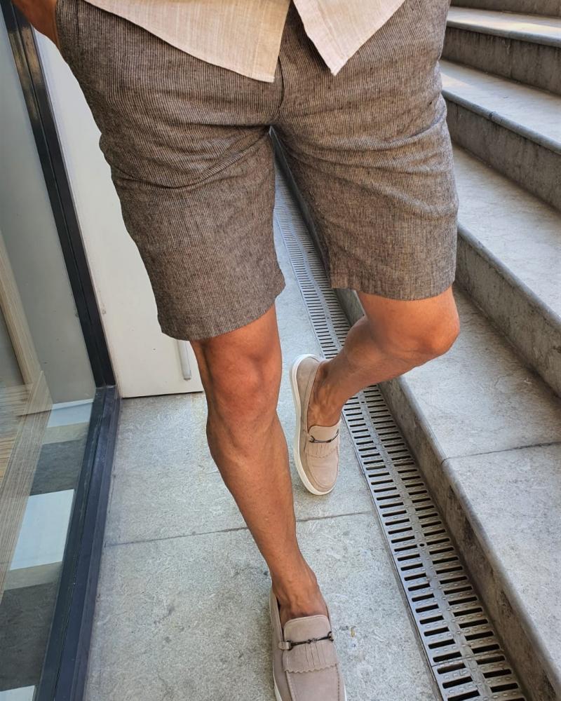Aysoti Fayetteville Black Slim Fit Shorts