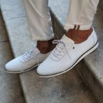 Aysoti Fayetteville White Low-Top Sneakers