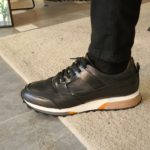 Aysoti Henderson Black Low-Top Sneakers