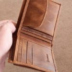 Aysoti Raleigh Tan Leather Wallet