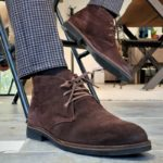 Aysoti Pelion Brown Suede Chukka Boots