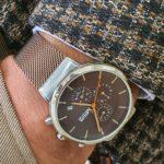 Aysoti Casba Gold Round Wrist Watch