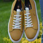 Bellfast Yellow Mid-Top Sneakers