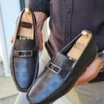 Aysoti Custer Black Bit Loafers