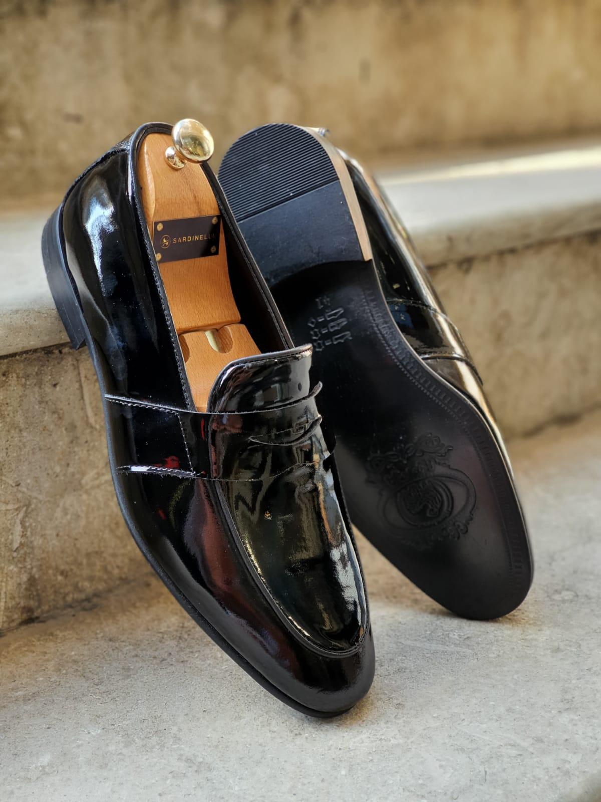 Aysoti Black Buckle Loafers