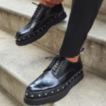 Aysoti Black Laced Boots