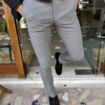 Aysoti Tegol Gray Slim Fit Pants