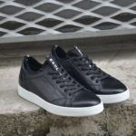 Aysoti Black Low-Top Sneakers