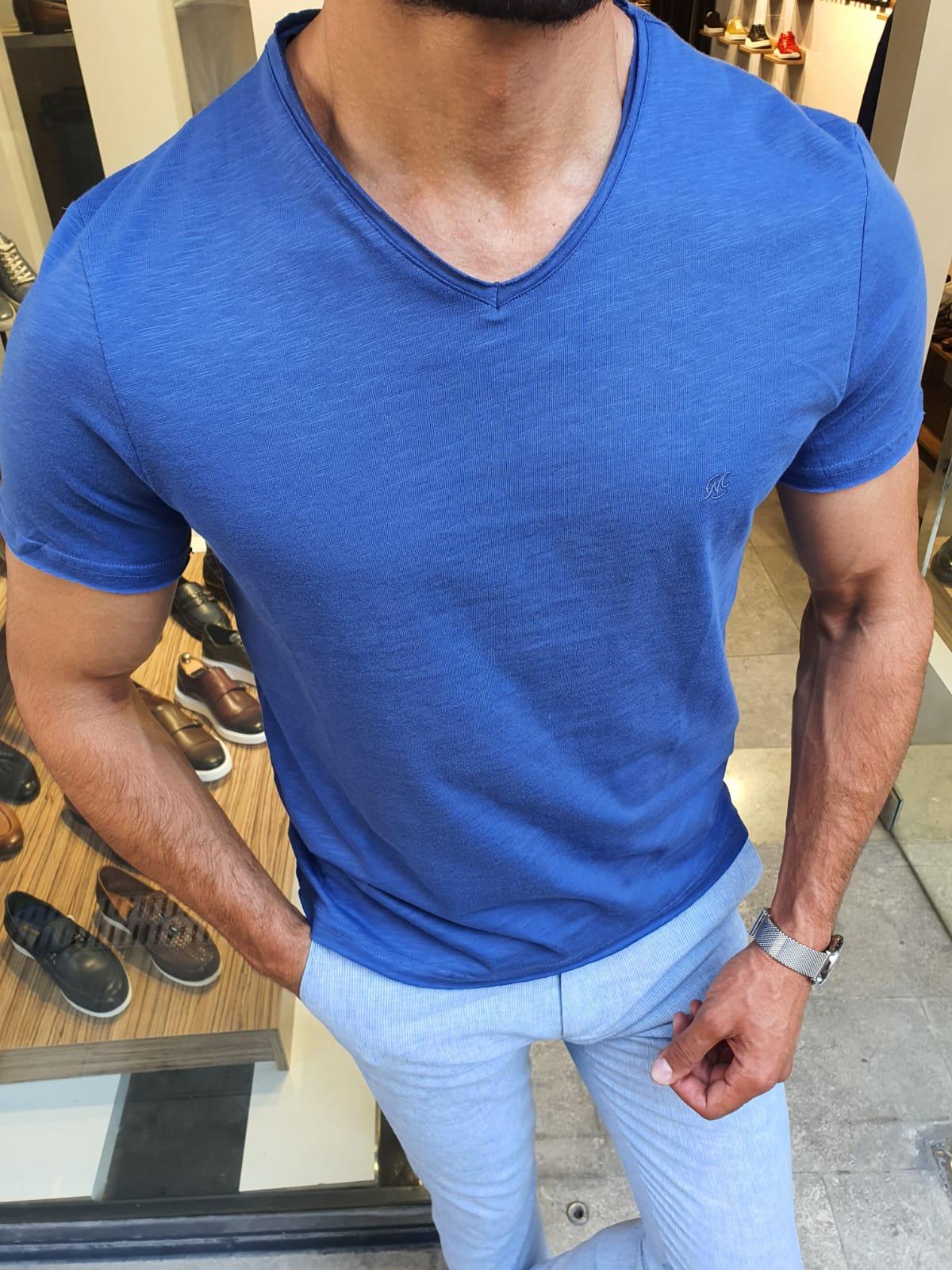 Aysoti Sax Slim Fit T-Shirt