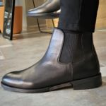 Aysoti Madeira Black Chelsea Boots