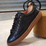 Aysoti Darlington Black Low-Top Sneakers