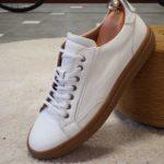 Aysoti Darlington White Low-Top Sneakers