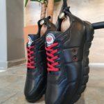 Aysoti Milford Black Mid-Top Sneakers