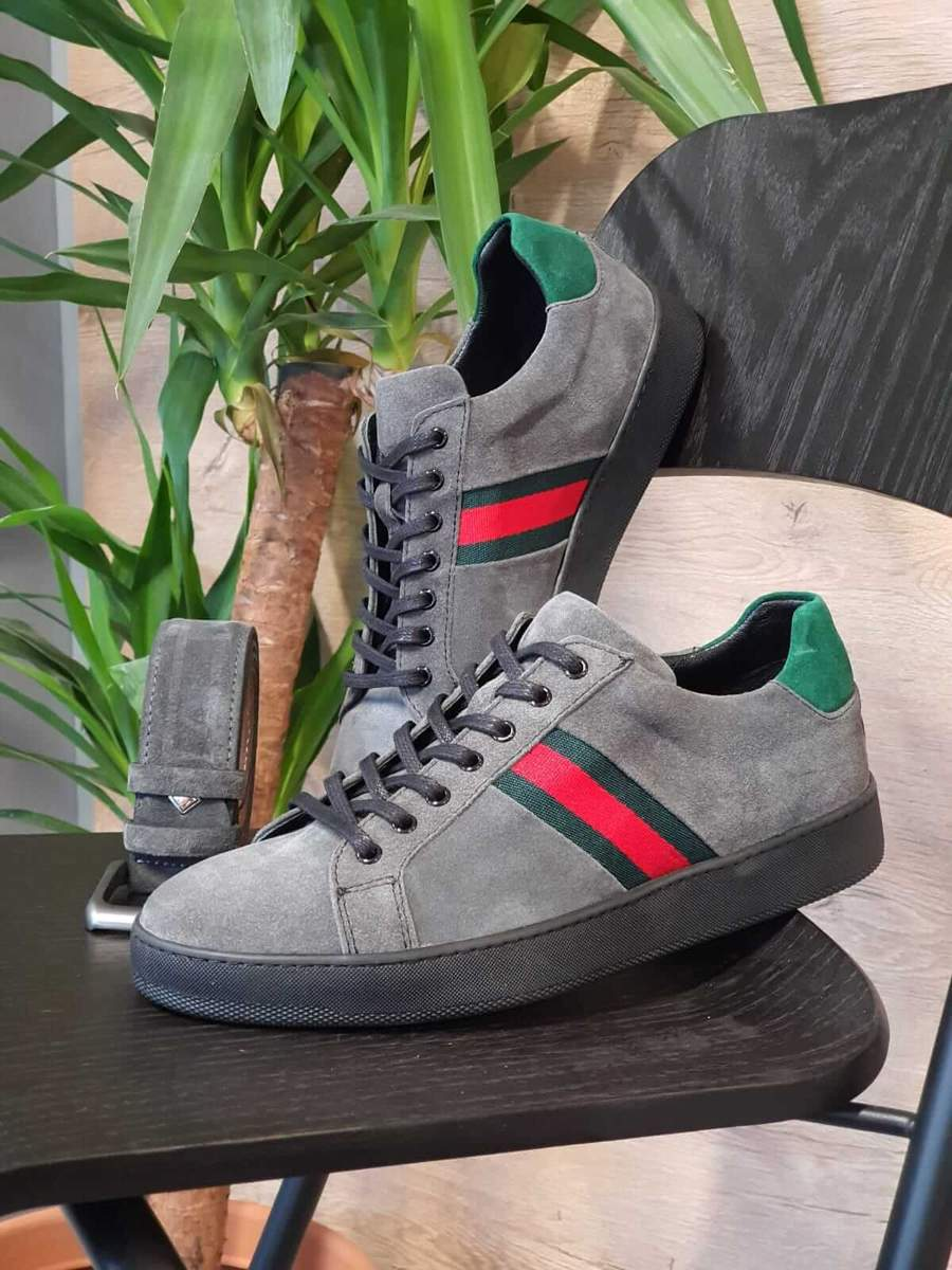 Aysoti Milford Gray Mid-Top Sneakers