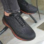 Black Mid-Top Sneakers