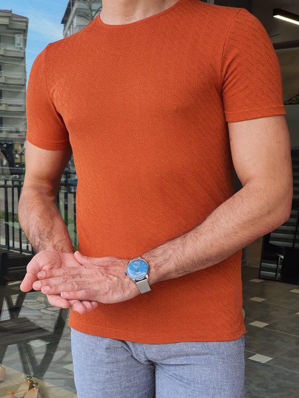 Slim Fit Round Neck T-Shirt