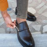 Brown Buckle Shoes