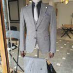Slim Fit Peak Lapel Suit