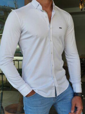 Slim Fit Long Sleeve Shirt