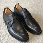 Aysoti Darlington Black Buckle Loafers
