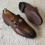 Aysoti Durham Brown Penny Loafers