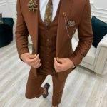 Tile Slim Fit Suit