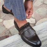 Brown Kilt Loafers