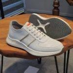 Aysoti Huebound White Mid-Top Sneakers