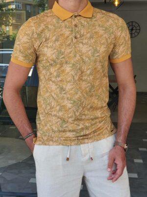 Mustard Slim Fit Polo T-Shirt