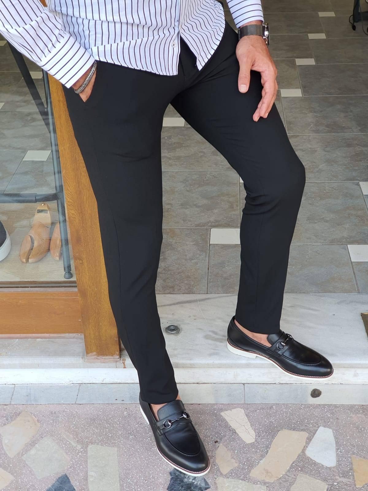 Black Slim Fit Pants